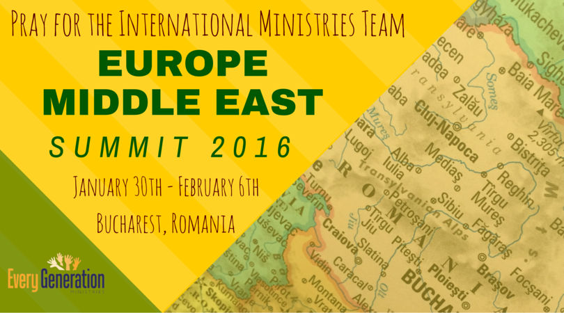 Model Children's Worker Summit 2016-Europe and Middle East