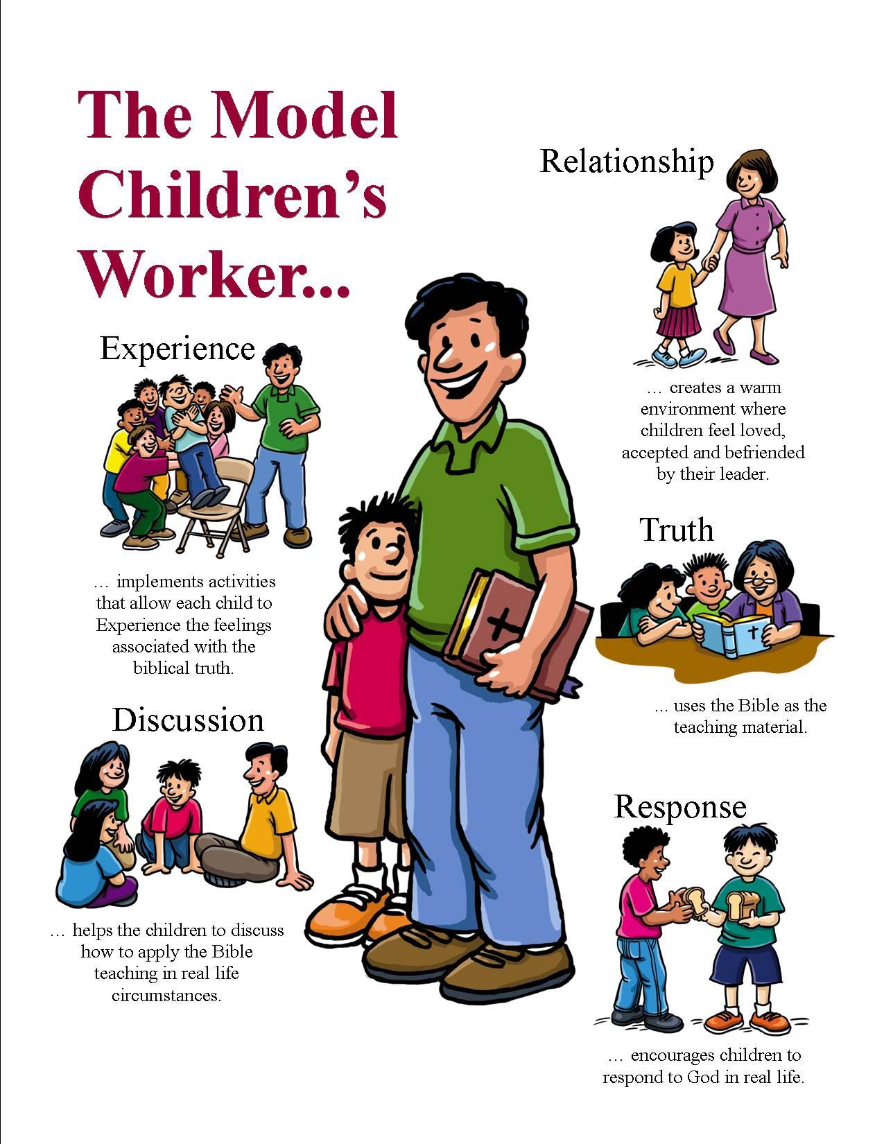 How We Work - Model Children's Worker