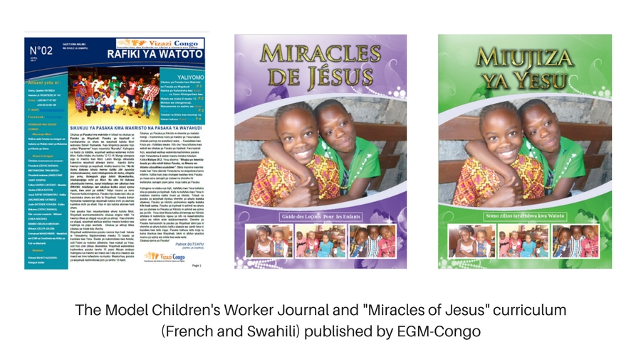 The Model Children's Worker Journal and _Miracles of Jesus_ curriculum (English) published by EGM-Uganda (1)